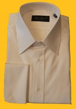 Classic Collar Shirt Plain Cream