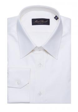 Classic Collar Shirt Plain White