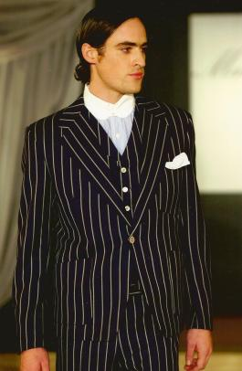 Mark Powell suit
